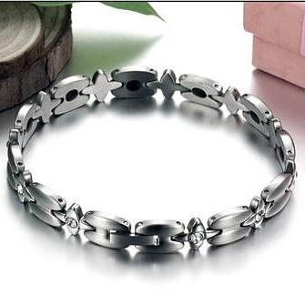 Steel chain with magnetic health titanium steel bracelet GS3336